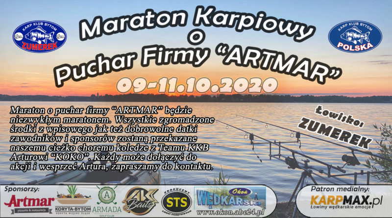 "MARATON KARPIOWY O PUCHAR FIRMY""ARTMAR "" 09-11.10 2020 ZUMEREK"